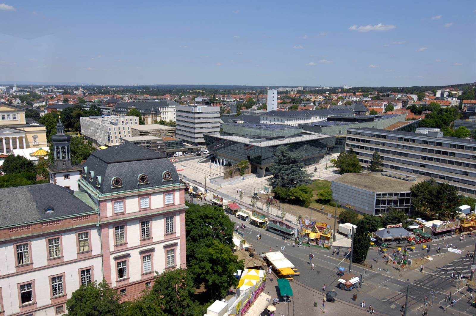 Darmstadt Deutschland Sehenswürdigkeiten